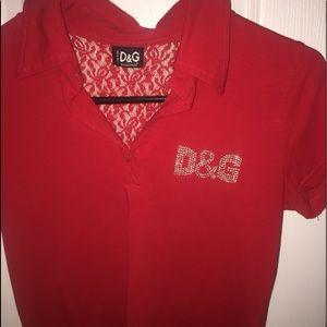 VINTAGE Dolce & Gabbana Women's Shirt